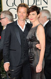 Guy Pearce and Kate Mestitz