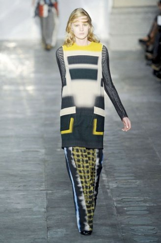 Peter Pilotto London Fashion Week fashion show catwalk report fall 2011