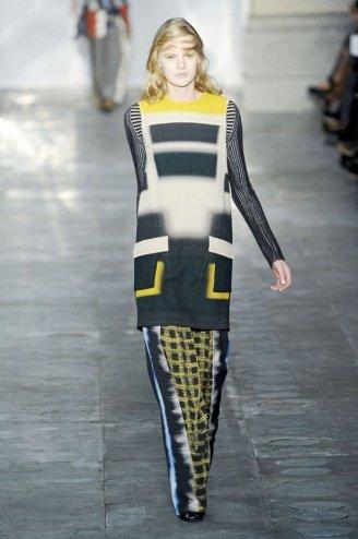 Peter Pilotto London Fashion Week fashion show catwalk report fall 2011
