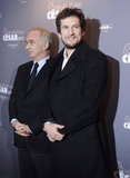Guillaume Canet attended a celebration for Cesar's Revelations.