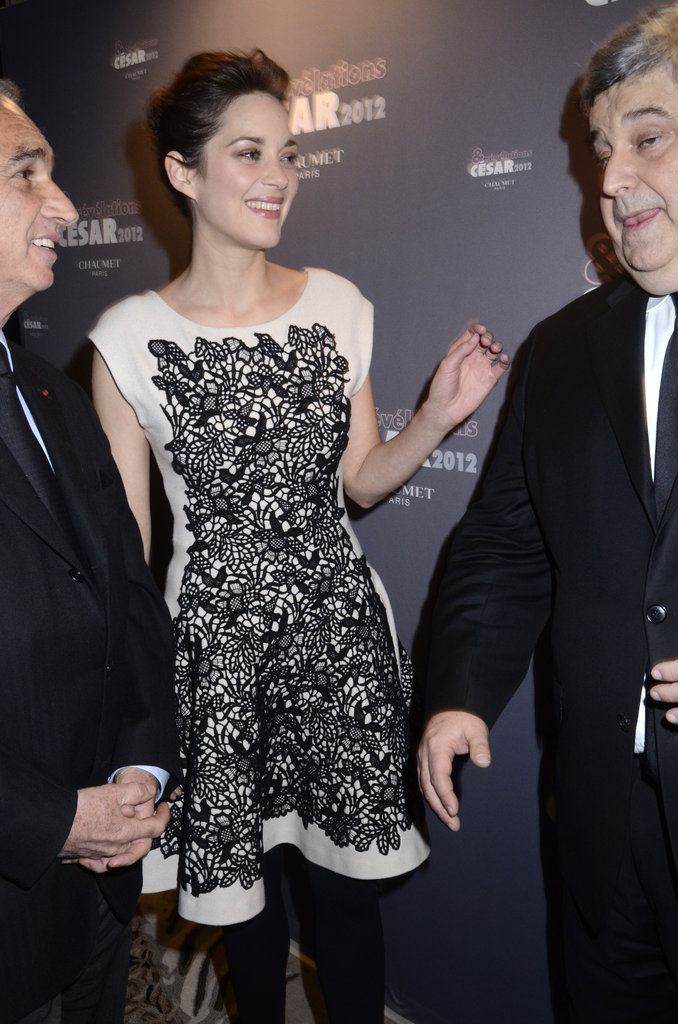 Marion Cotillard hit the red carpet for Cesar's Revelations.
