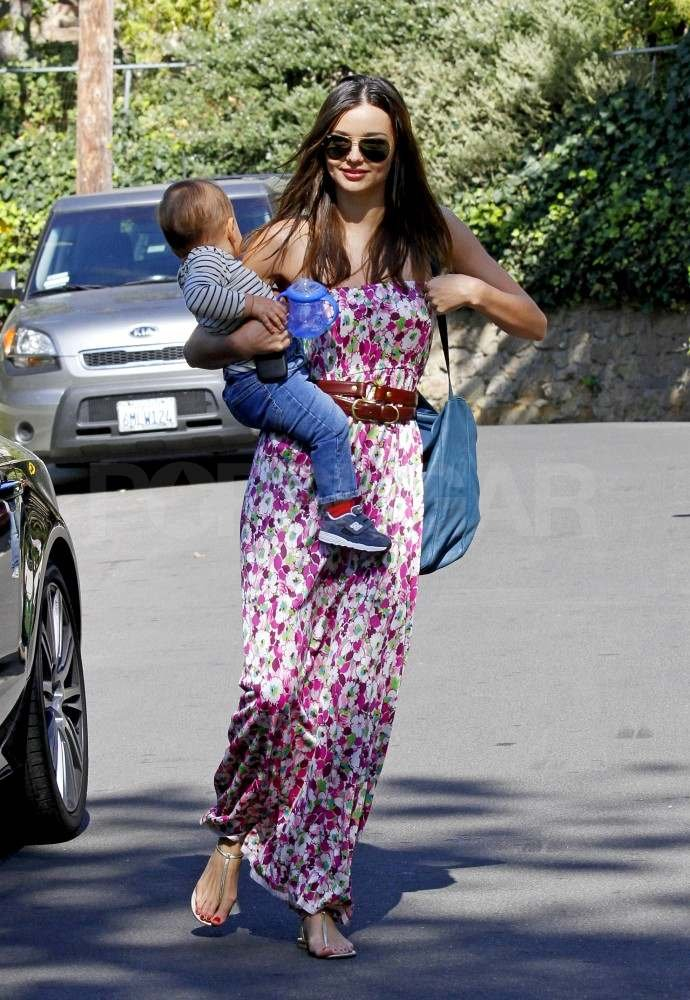 Miranda Kerr with Flynn.
