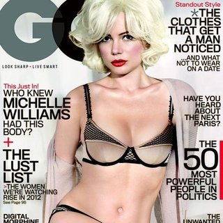 Michelle Williams Lingerie GQ Shoot (Video)