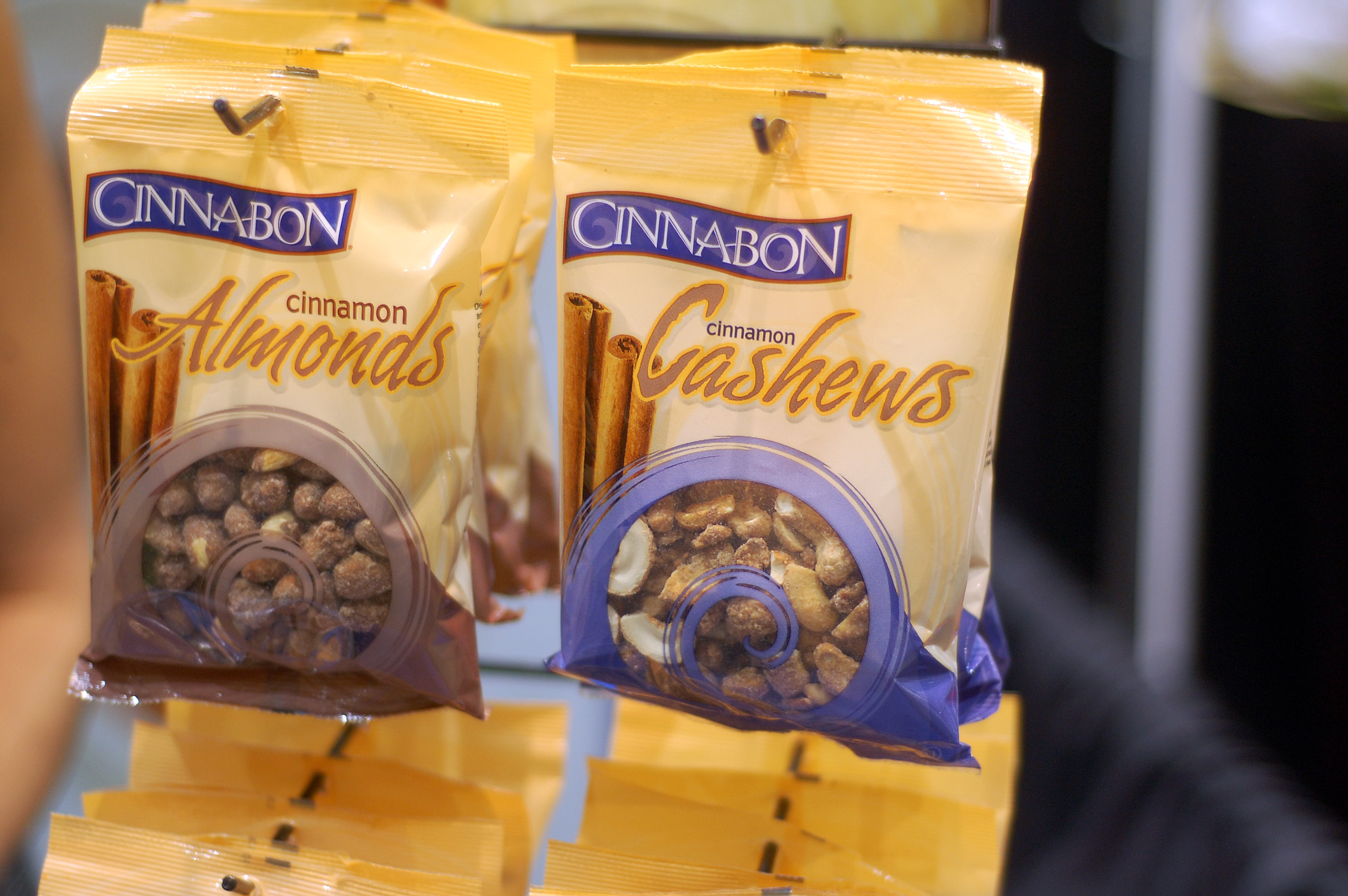 Cinnabon-Flavored Nuts