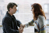 Christian Borle and Debra Messing in Smash.  Photo Courtesy of NBC