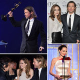 Brad Pitt and Angelina Jolie's Best 2012 Awards Season Moments So Far!