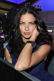 Adriana Lima attended the SIHH High Jewelry Fair's afternoon events in a wristwatch.