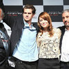 Emma Stone and Andrew Garfield Pictures at Tokyo Amazing Spider-Man Press Conference