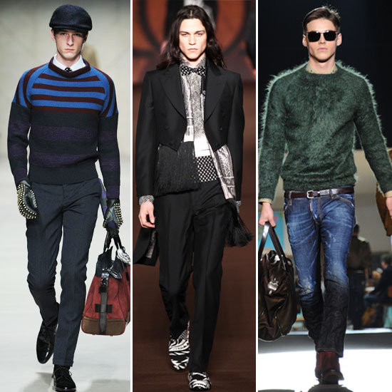 2012 Fall Men's Fashion Week: All the Looks From Prada, Gucci, Burberry Prorsum, Plus More