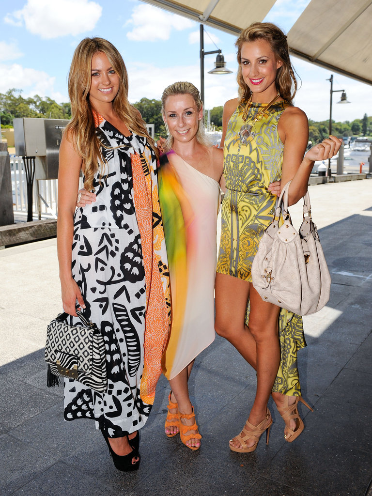 Jesinta Campbell, Gemma Crisp and Laura Dundovic