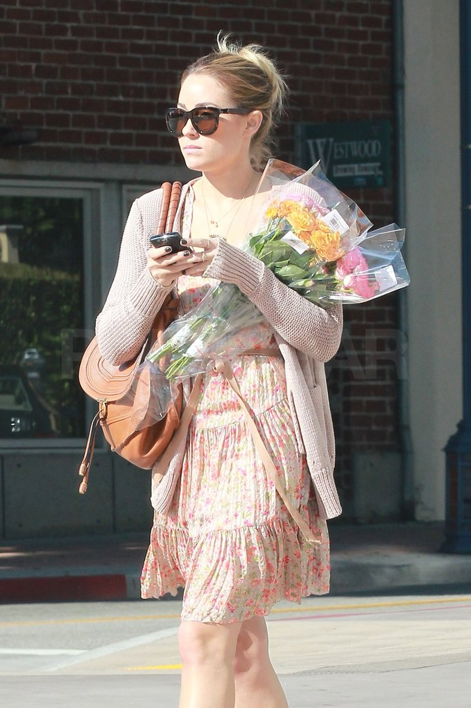 Lauren Conrad carried a Chloé bag.