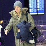 Gwyneth Paltrow was in her Winter gear.