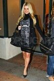 Jessica Simpson attended her mom's birthday party in LA.