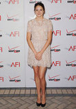 For the AFI Awards in early January, the actress opted for a creamy lace minidress from Honor's Spring '12 collection. We love how dainty and sweet the dress is, especially with Shailene's long, sexy legs.
