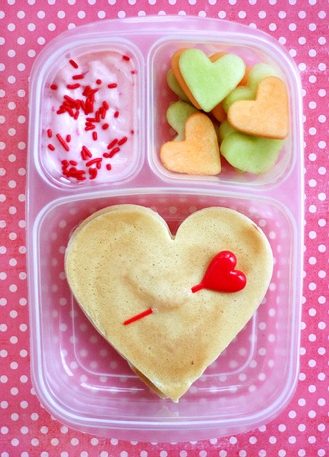 Breakfast For Lunch: Valentine's Day Lunch Box Idea