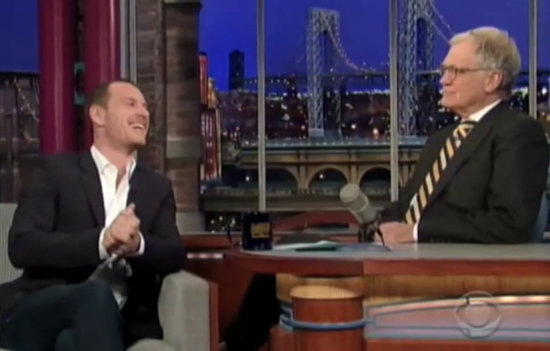 Michael Fassbender Cracks Dirty Joke, Dishes on His Three-Way Sex Scene
