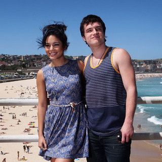 Vanessa Hudgens and Josh Hutcherson Pictures at Journey 2: The Mysterious Island Bondi Beach, Sydney Photo Call