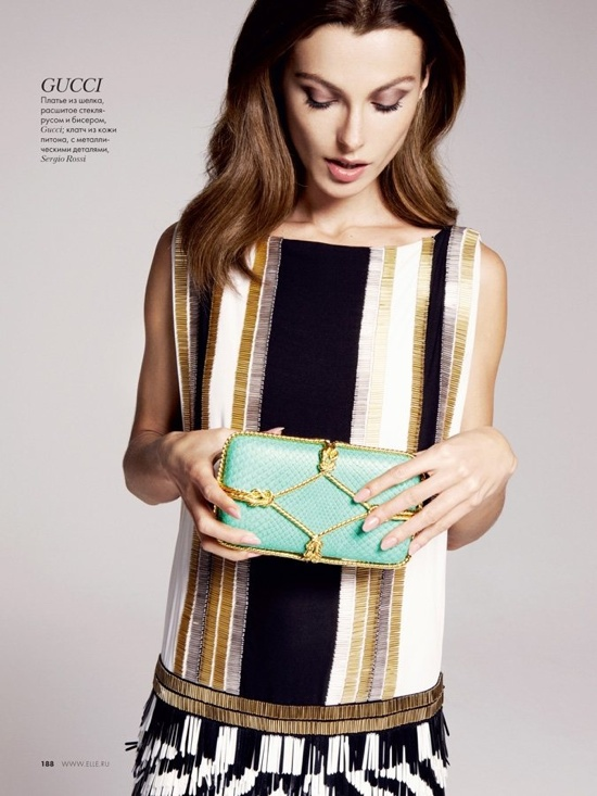 რუსული Elle - თებერვალი 2012