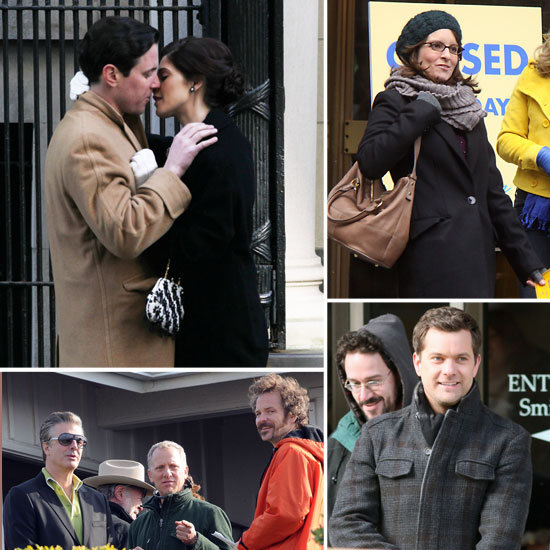 Tina Fey, Ashley Greene, Joshua Jackson, and More Stars on Set This Week!