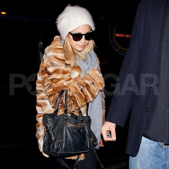Nicole Richie took off solo from LAX.