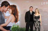 Rachel McAdams and Channing Tatum were in Germany for the premiere of The Vow.