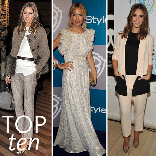 Pictures of the Top Ten Best Dressed Celebrities This Week Rachel Zoe, Olivia Palermo, Charlize Theron & More!