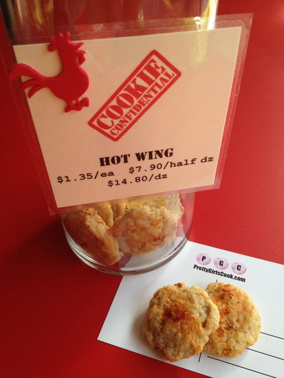 Hot Wing Cookie