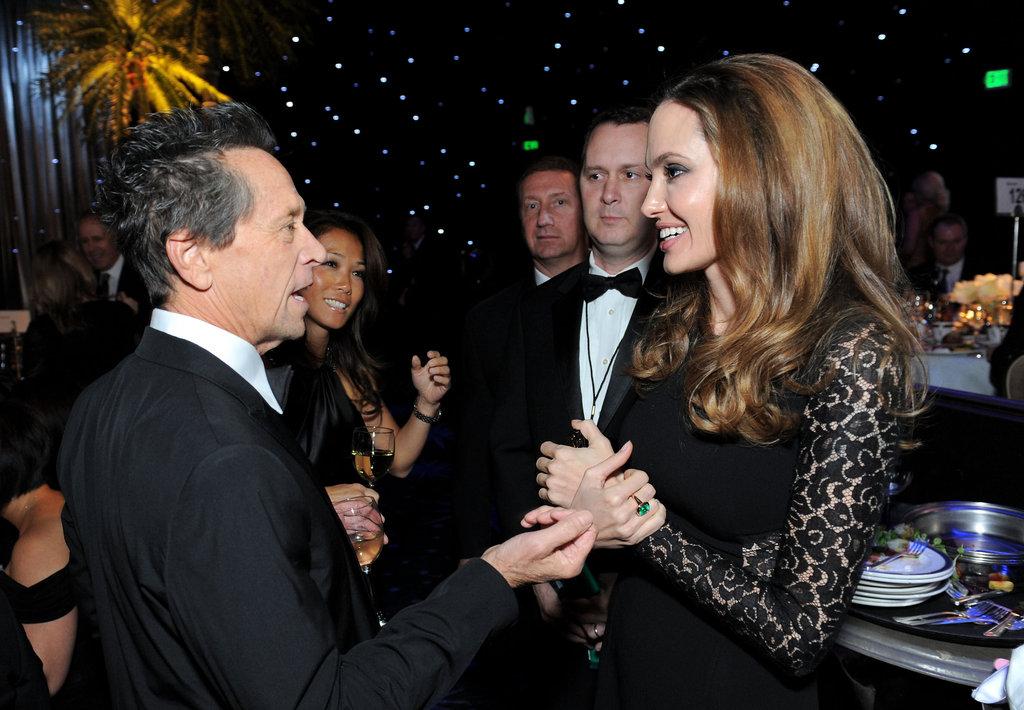 Angelina Jolie and Brian Grazer