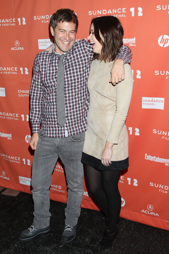 Mark Duplass and Emily Blunt laughed at Sundance.