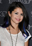 Selena tried out her latest hair color.