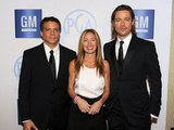 Brad Pitt, Michael De Luca, and Rachael Horovitz