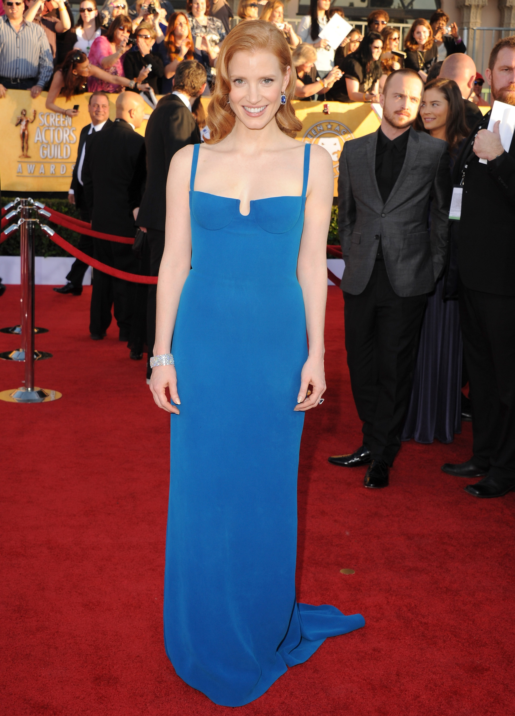 Jessica Chastain at the SAG Awards