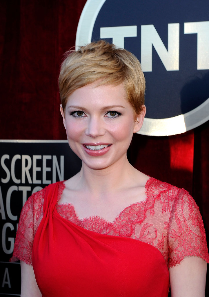 Michelle Williams at the SAGs.