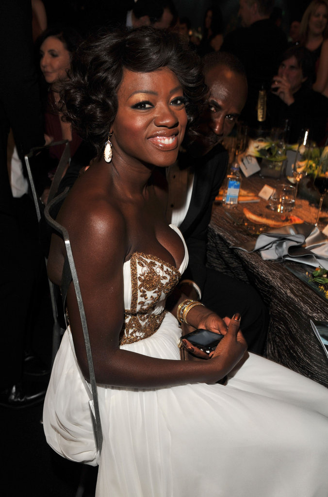 Viola Davis watched the SAGs.