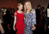 Busy Philipps and her best friend Michelle Williams at the show.