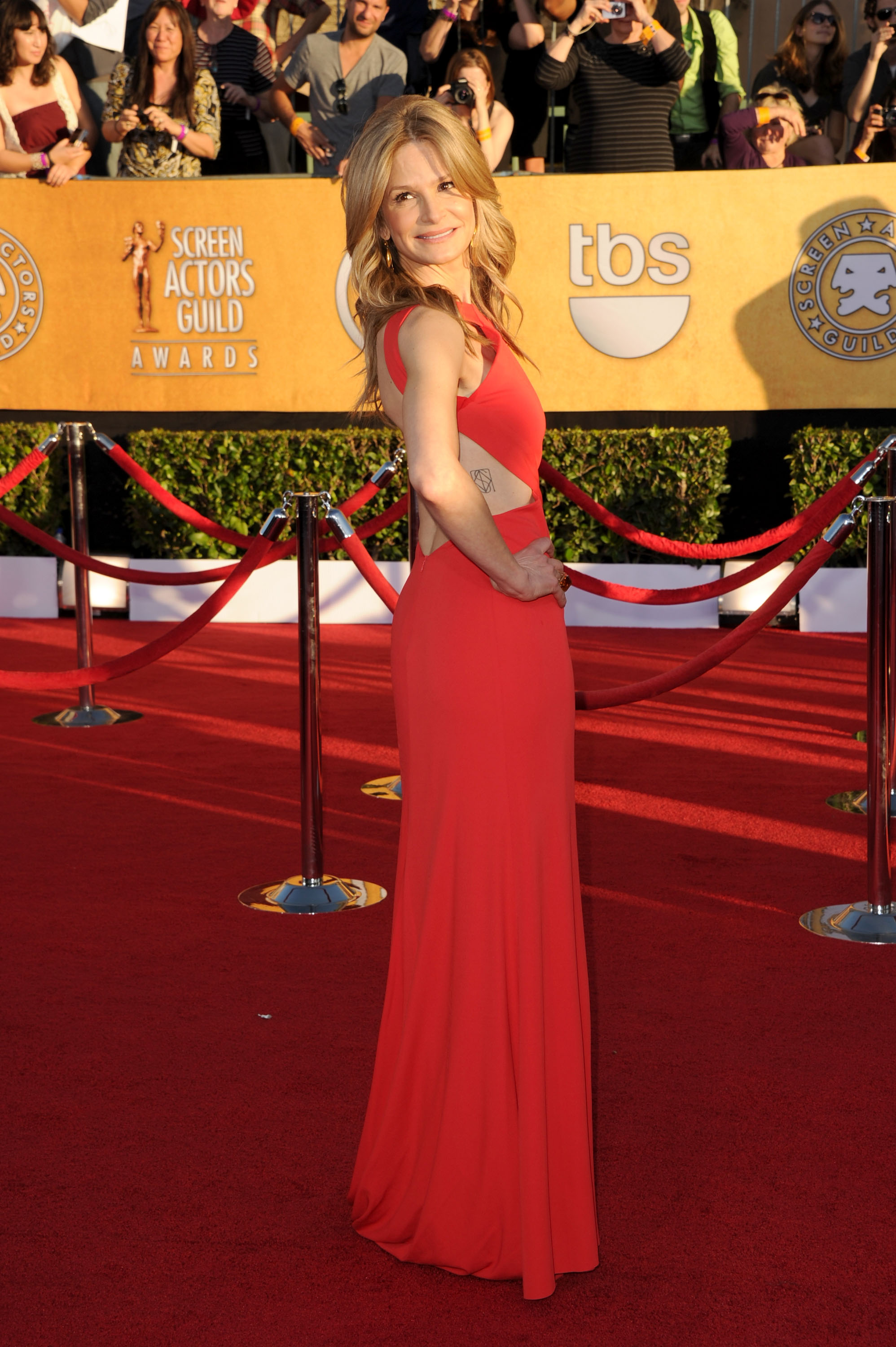 Kyra Sedgwick at the SAG Awards