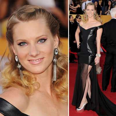 Heather Morris at the SAG Awards 2012