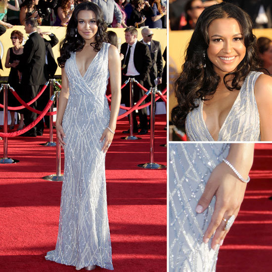 Naya Rivera at the SAG Awards 2012