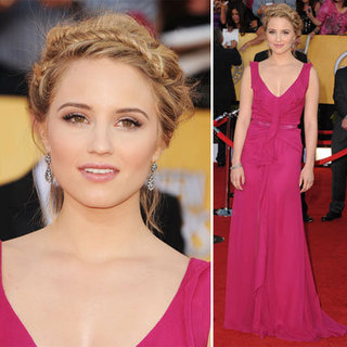 Dianna Agron at the SAG Awards 2012