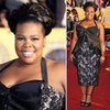 Amber Riley at the SAG Awards 2012