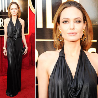 Angelina Jolie Vamps it Up in Jenny Packham Draped Gown at the 2012 SAG Awards: Rate it or Hate it?