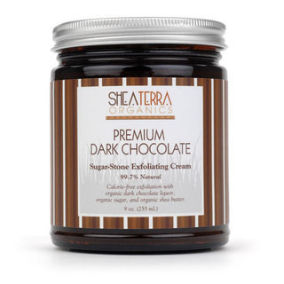 Review of Shea Terra Organics Chocolate Sugar-Stone Exfoliating Cream