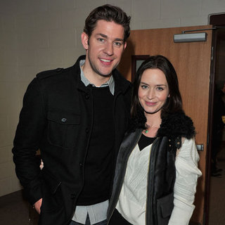 John Krasinski and Emily Blunt Pictures at Sundance 2012