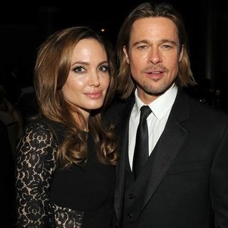 Brad Pitt Angelina Jolie Producers Guild Awards (Video)