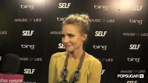 Kristen Bell at Sundance Talking About House of Lies