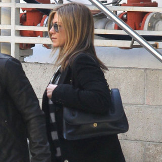 Jennifer Aniston and Justin Theroux Pictures in LA