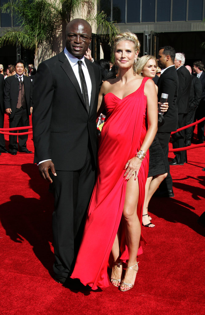 Heidi was red-hot for the 2006 Emmys with Seal.