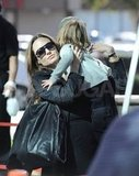 Angelina Jolie picked up Knox Jolie-Pitt.