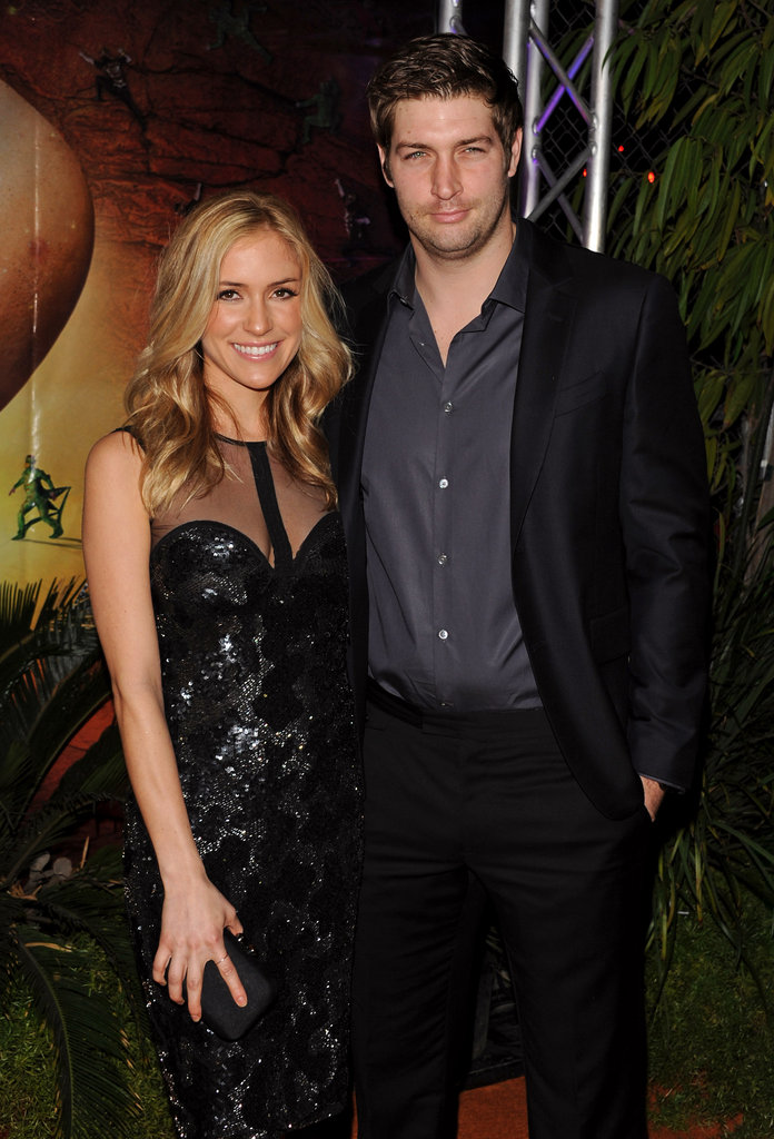 "Pregnant Kristin Cavallari and fiancé Jay Culter at the Cirque du Soleil ""OVO"" Celebrity Opening Night Gala."