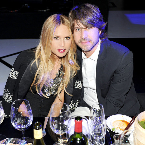Rachel Zoe and Rodger at a Chanel dinner in Las Vegas. Billy Farrell/BFAnyc.com